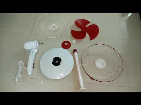 Assembling usha pedestal fan
