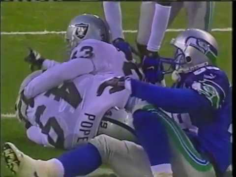 2000 - Raiders vs Seahawks Free Safety Controversial Call