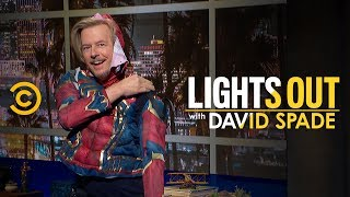 A Spooky Halloween Monologue - Lights Out with David Spade