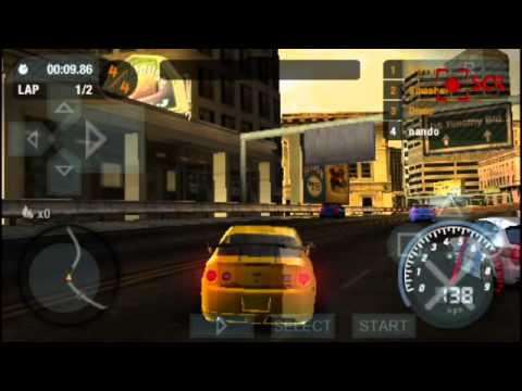 Need for speed most wanted psp android emulador youtube for Nfs most wanted android