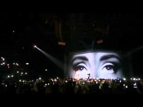 Adele hello live at Birmingham in 4k