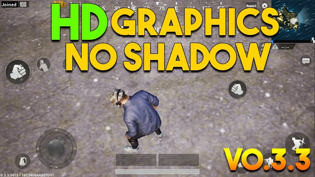 Hd Graphics In Pubg Mobile: ENABLE HD GRAPHICS NO SHADOW (LESS LAG) PUBG MOBILE