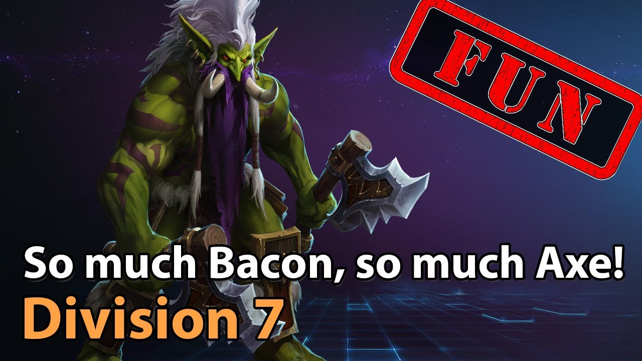 ► FUN - Much Bacon, Much Axe! - Division 7 - Heroes of the Storm Esports