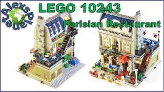 Lego Parisian Restaurant 10243 Modular Building Review