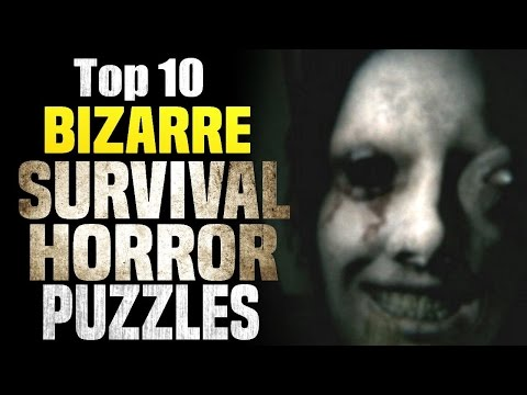 Top 10 Bizarre Survival Horror Puzzles