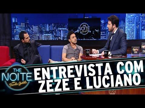 The Noite (14/01/16) - Entrevista Com Zezé Di Camargo E Luciano