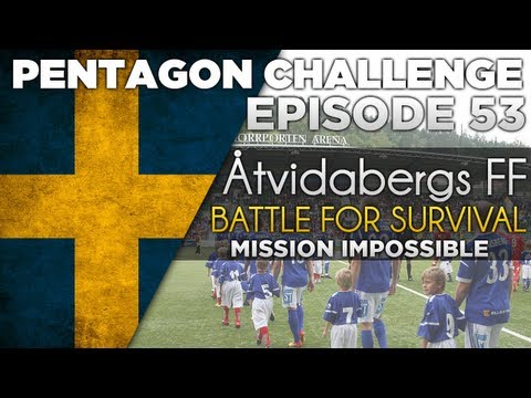 Pentagon Challenge Ep.53 Mission Impossible? | #FootballManager 2013