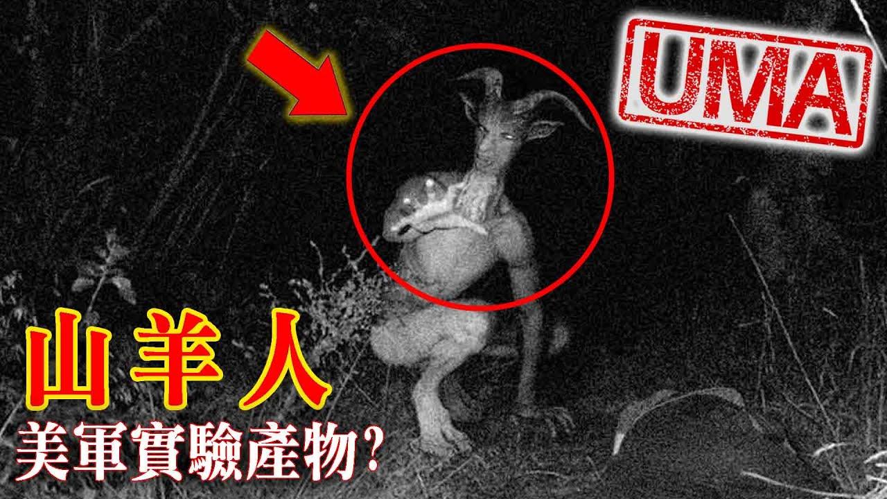 【UMA檔案】山羊人-傳說/美軍秘密實驗逃脫產物?! GoatMan |未確認生物|超自然|古文明|外星人| - YouTube