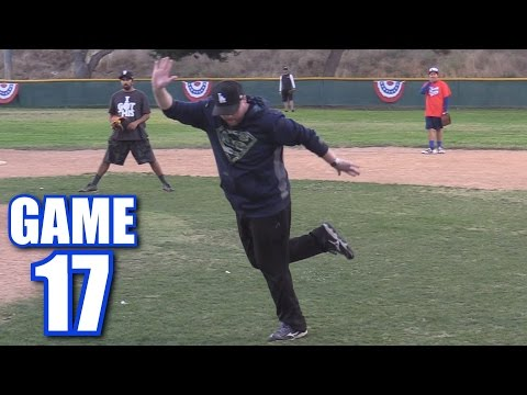 I DO SOME BALLET DANCING! | On-Season Softball League | Game 17