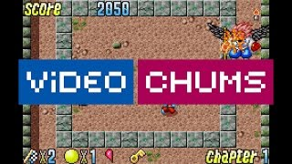Pocky & Rocky with Becky Gameplay | GBA WiiU