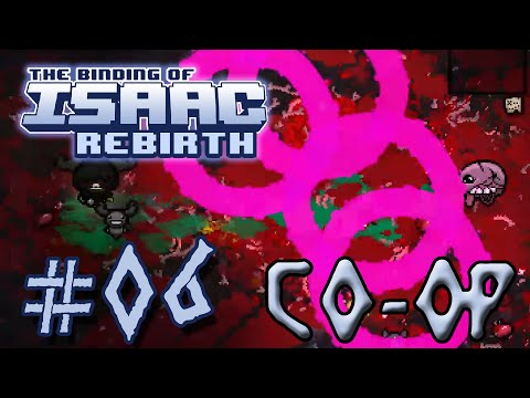 The Binding of Isaac: Rebirth Co-op - 06 - Circles Of Death (Insanely powerful co-op run) [60 FPS]