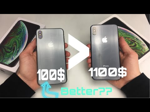 Fake IPhone BETTER Than The REAL????