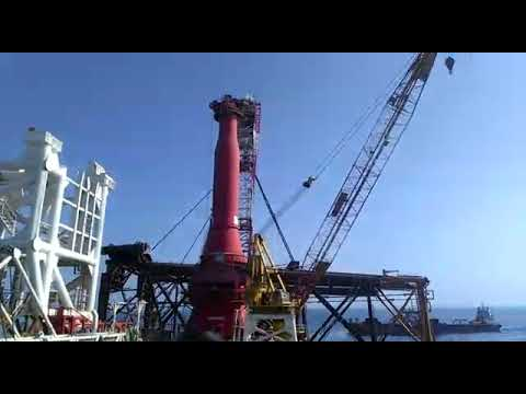 LTS 3000 pipe lay vessel incident at Mumbai Offshore