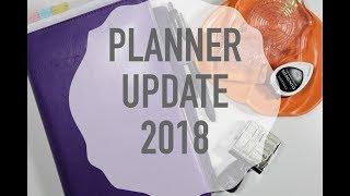PLANNER UPDATE 2018 | BUJO | FILOFAX FLEX