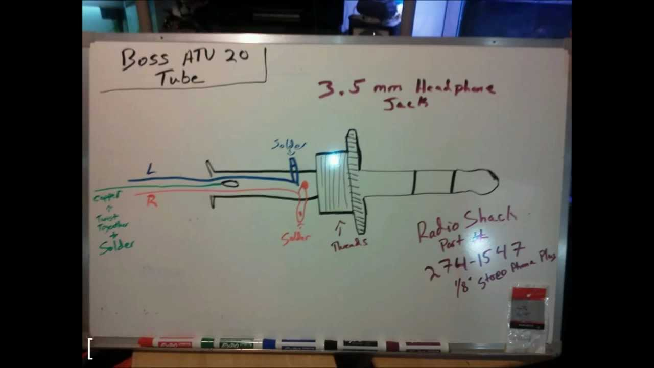 maxresdefault boss atv tube audio plug repair youtube boss marine radio wiring diagram at et-consult.org