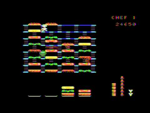 Burgertime Review ColecoVision