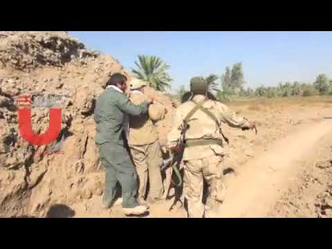 Scenes with the Major General Qassem Sulaimani leading the front line battles against IS