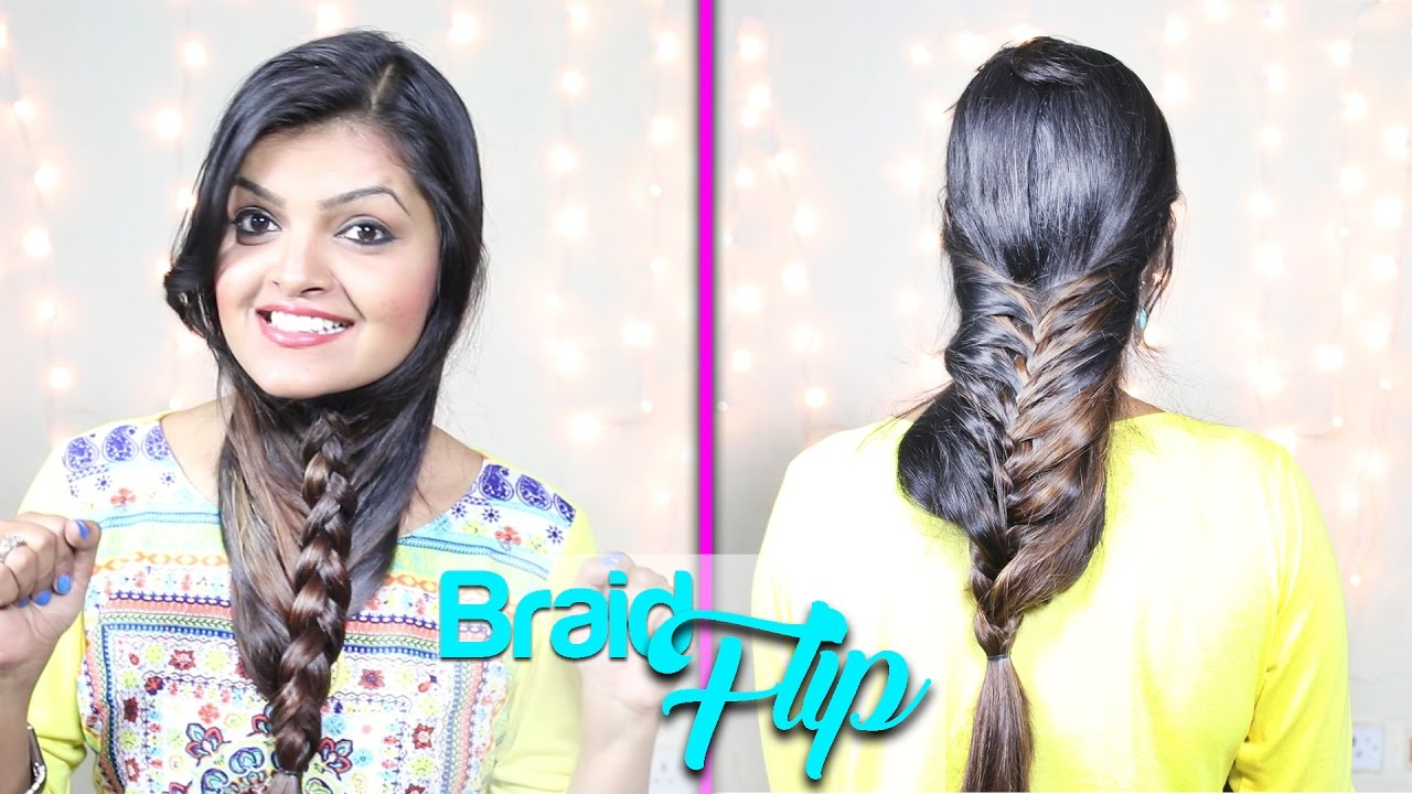 DIY Video Braided Hairstyle Flip The Beard Braid YouTube - Hairstyle diy video