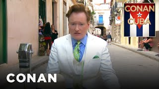 """Conan In Cuba"" Open  - CONAN on TBS"