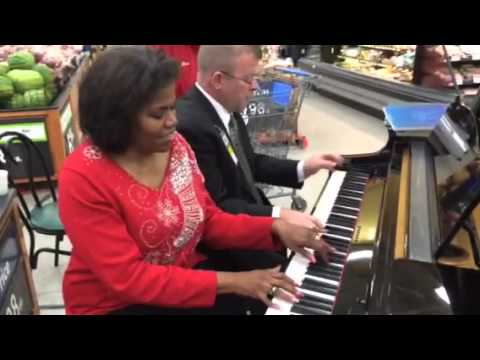 Amazing Grace Duet in walmart