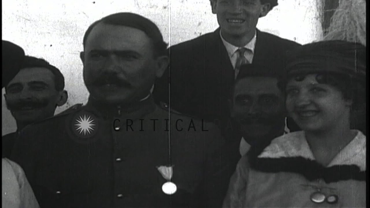 Mexican General Obregon and President Carranza in Mexico ...