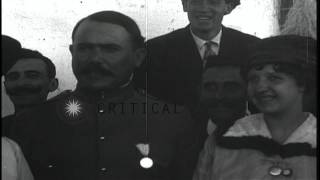 Mexican General Obregon and President Carranza in Mexico HD Stock Footage