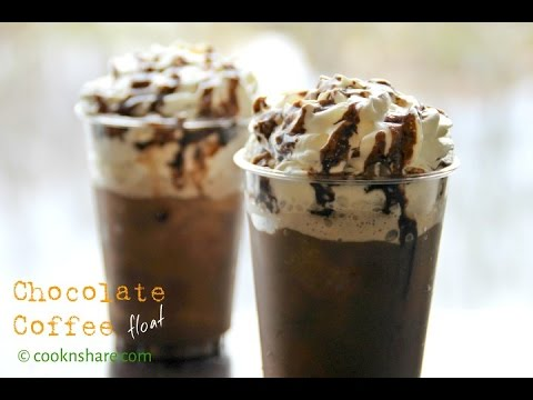 Chocolate Coffee Float - 5 Ingredients