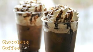 Chocolate Coffee Float - 5 Ingredients