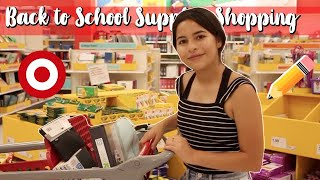 BACK TO SCHOOL SUPPLIES SHOPPING VLOG 2018! | Melissa Vlogs