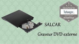 Salcar Graveur DVD Externe USB3