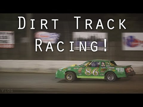 Dirt Track Racing For The First Time!
