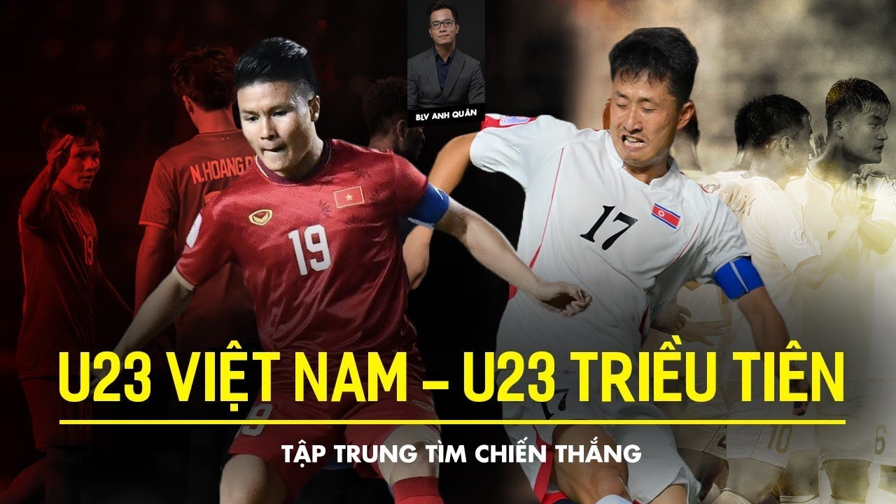 Lịch phát sóng bóng đá hôm nay 16/1: U23 Việt Nam vs U23 Triều Tiên