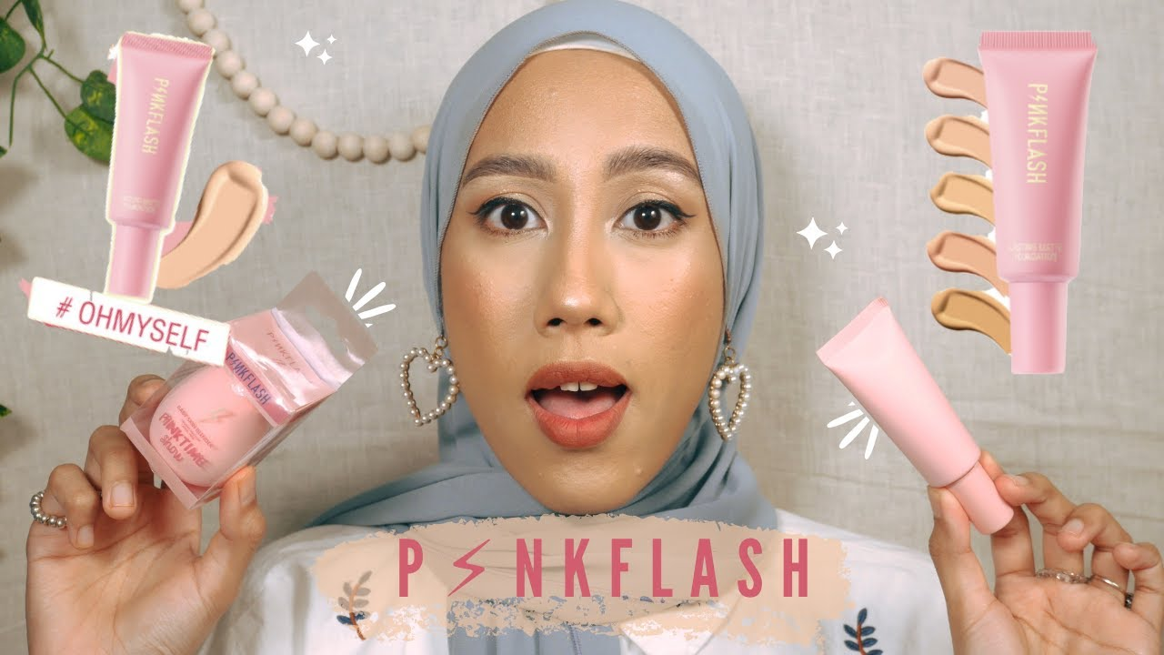Download PINKFLASH LASTING MATTE FOUNDATION TRY ON & REVIEW