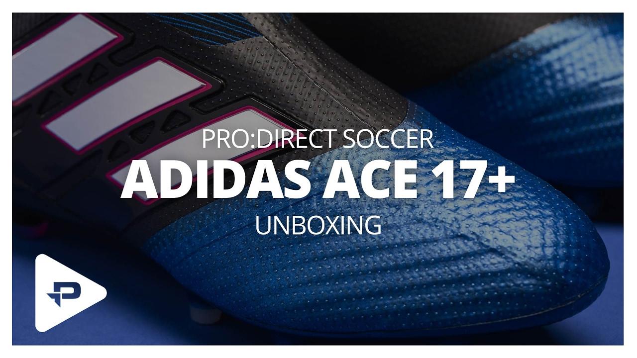 0ec35b96e6a06e Unboxing  adidas ACE 17+ Purecontrol Blue Blast - YouTube