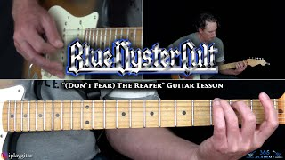 Blue Oyster Cult - (Don't Fear) The Reaper Guitar Lesson