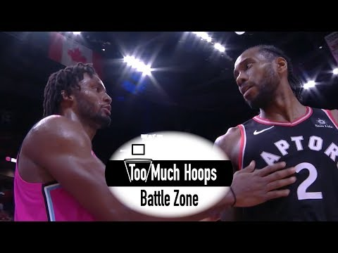 Kawhi Leonard vs Justise Winslow Epic Defensive Battle - Full Highlights with Defense 12.26.2018