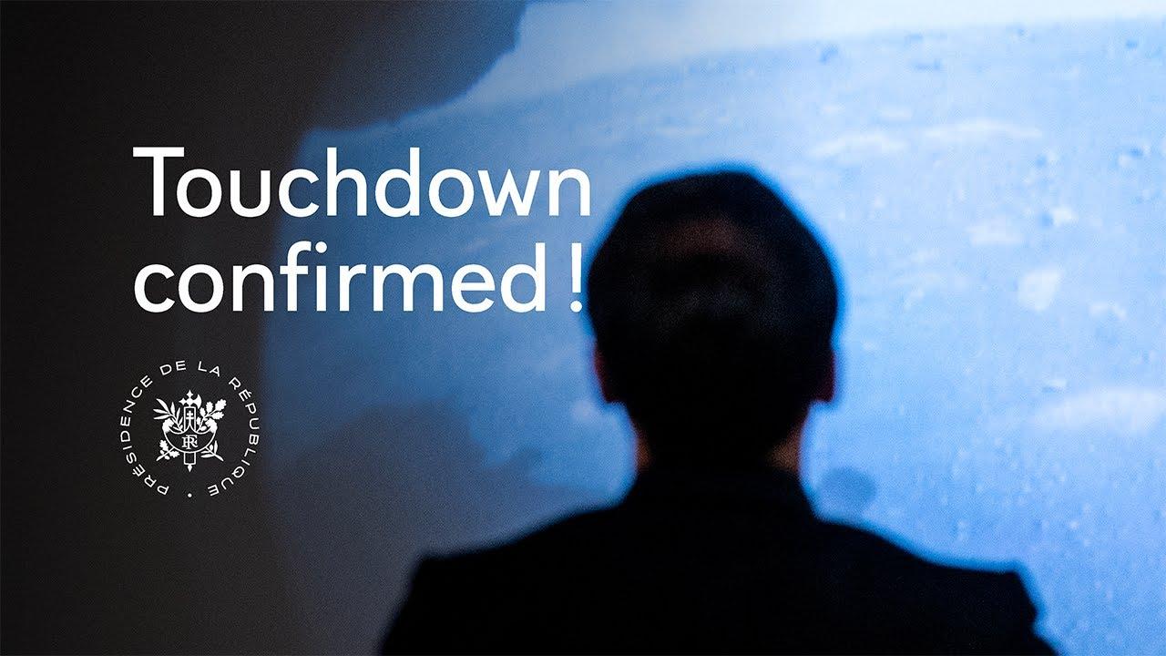 Touchdown confirmed!