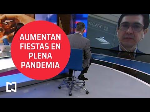 Entrevista I Aumentan fiestas masivas en plena pandemia de COVID-19 en CDMX; Coordinador del C5