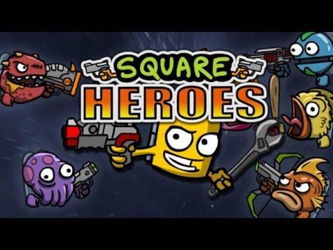 Square Heroes - GAMEPLAY