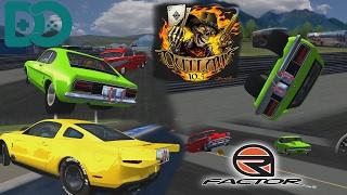 Rfactor #2 - Drag Racing - Jethros Outlaws Mod - WHEELIES & Crashes!