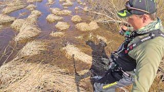 Рыбалка в Мае на разливе реки КЛЮЁТ ЛУЧШЕ УТРОМ ИЛИ ВЕЧЕРОМ Мормышинг 2020