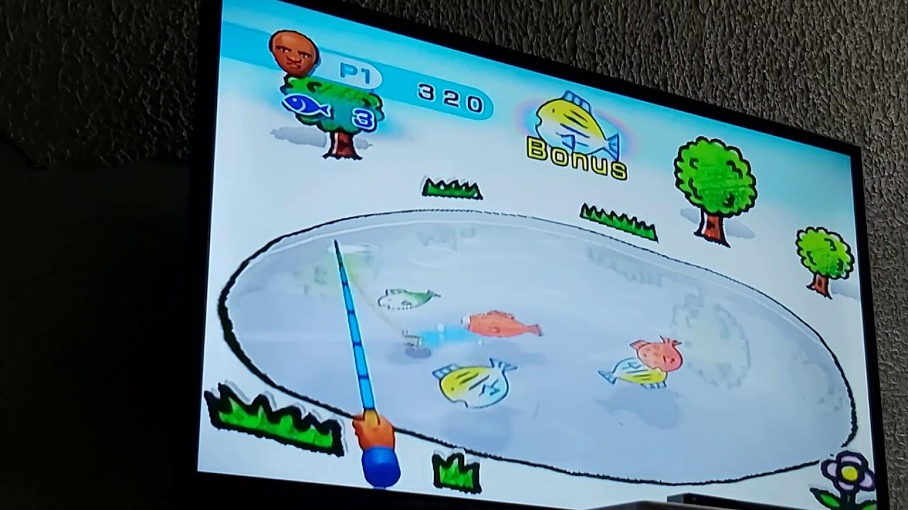 Wii Play - Fishing - Eduardo's Silver Medal