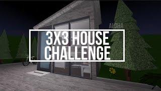3x3 House Challenge | Roblox | Bloxburg |