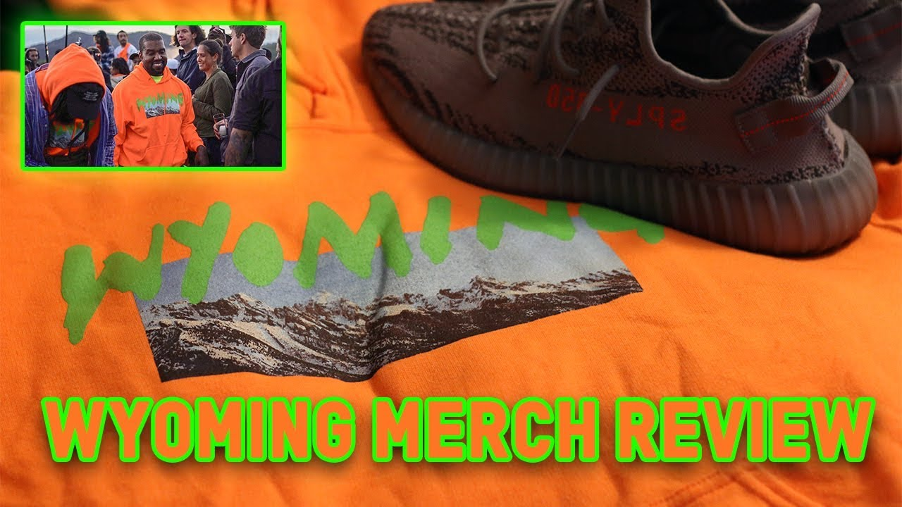 KANYE WEST WYOMING 'YE' MERCH REVIEW!