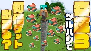 【神アプデ】幸運で鉱石がたくさん取れる!!100個削って検証してみた!!