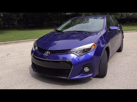 2014 Toyota Corolla S Premium Review 4K