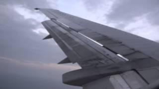 Malaysia Airlines landing at Sandakan Airport,Sabah
