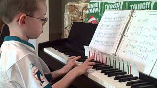 Autistic Child Playing Piano Man Update