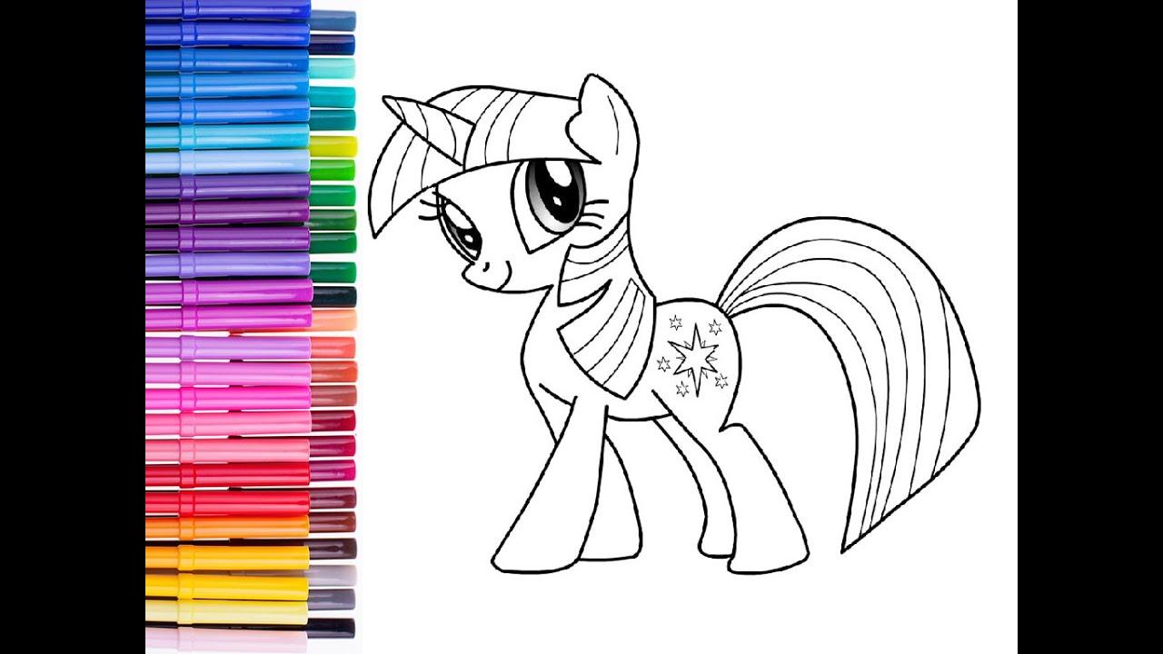 My little pony|Раскраска Твайлайт Спаркл (Сумеречная ...