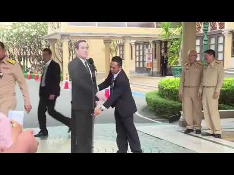 Thai Junta leader tells reporters to direct questions to his cutout